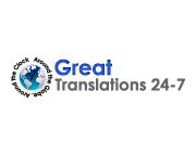 Logo Great Translations 24/7