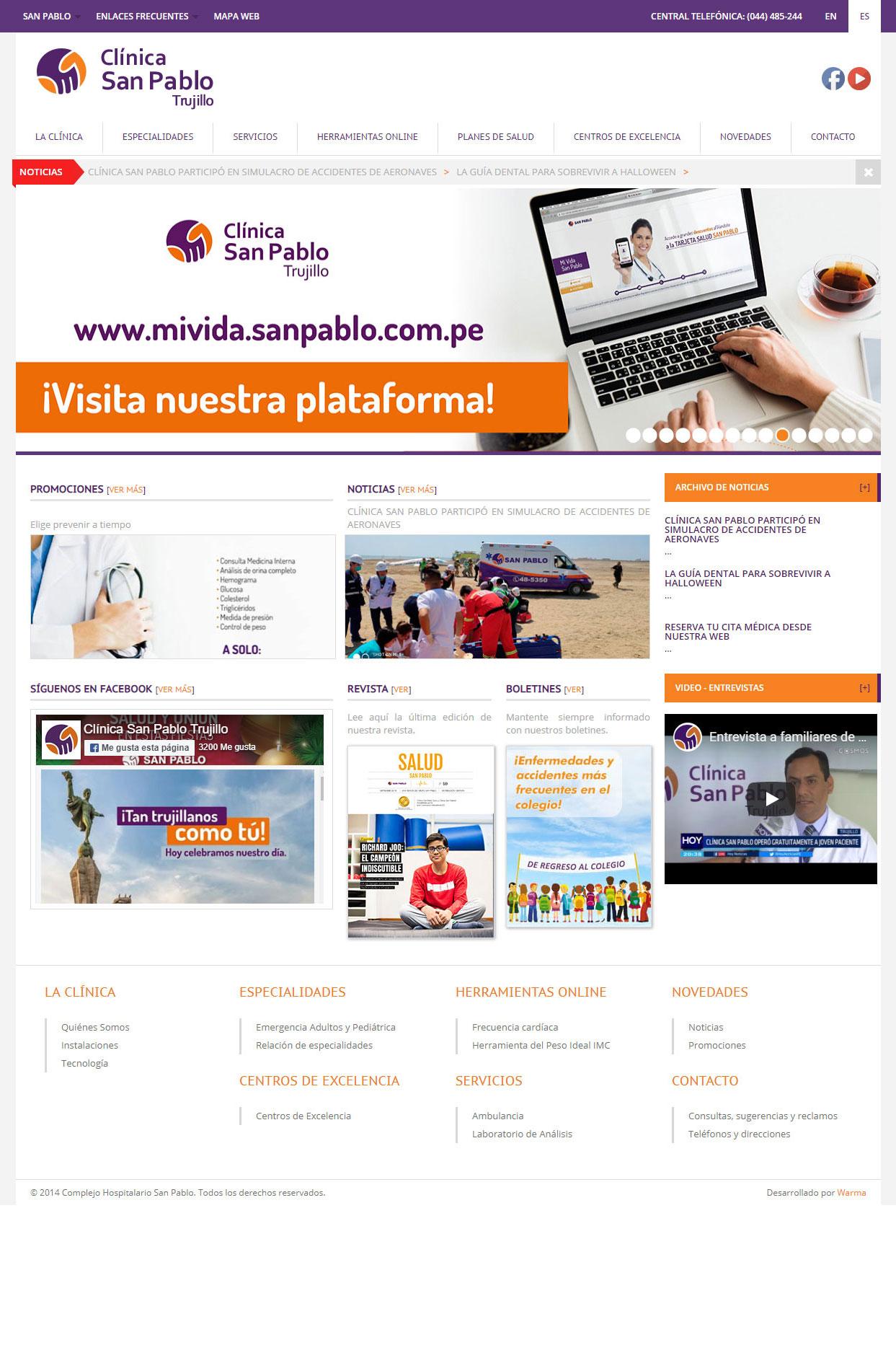 Clínica San Pablo Trujillo